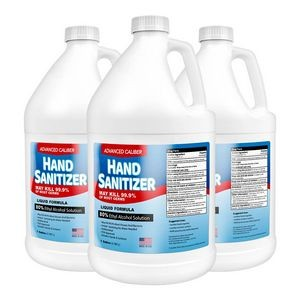 Advanced Caliber Premium Liquid Hand Sanitizer 1 Gallon Refill (80% Alcohol)