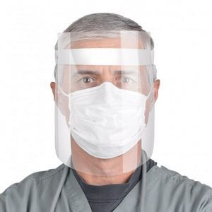 Plastic Face Shield Made Of Food Grade Clear Plastic