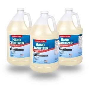 Advanced Caliber GEL Hand Sanitizer 1 Gallon Bottle 72% Alcohol USA Made